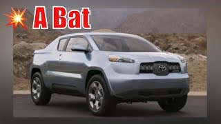 2020 Toyota A Bat pickup | 2020 Toyota A-Bat Review, Price, Specs & Concept .