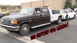 THIS IS THE SICKEST RETRO TOW TRUCK!