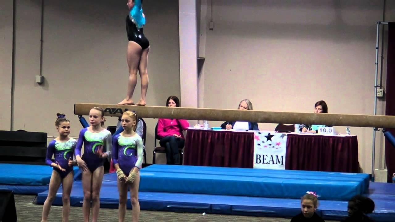 tops gymnastics meet 2014