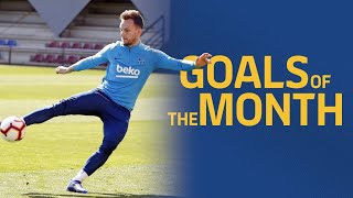 GOALS OF THE MONTH | March's training sessions