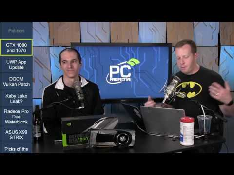 PC Perspective Podcast 399 - 05/11/2016