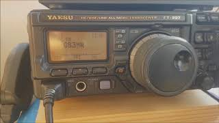 Radio on Holiday in Galloway, Portable antennas.