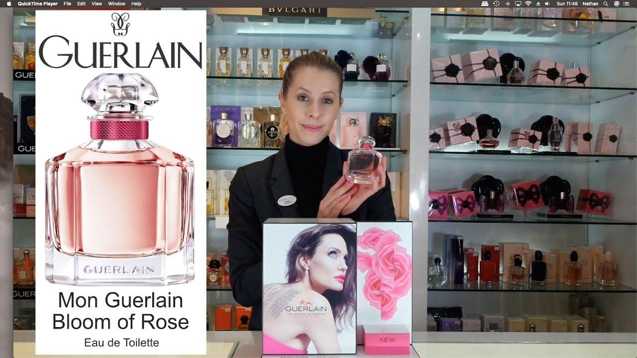 Mon Guerlain Bloom of Rose Eau de Toilette Perfume Review