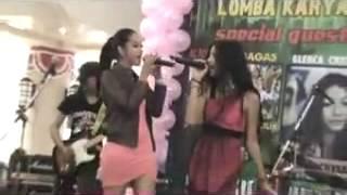 Glenca Chysara ft. Poppy Bunga - Wonder Woman (Live) (Mulan Jameela Cover)