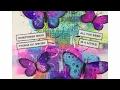 Art Journal Prompts Week 21 - Tissue Paper (Bleeding Tisue Paper Art) Mixed Media