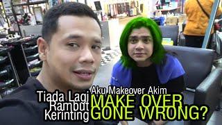Aku Luruskan Rambut Akim. Make Over Gone Wrong? (Unbox GoPro Hero Max)