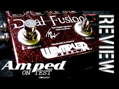 amped wampler dual fusion distortion pedal youtube. Black Bedroom Furniture Sets. Home Design Ideas