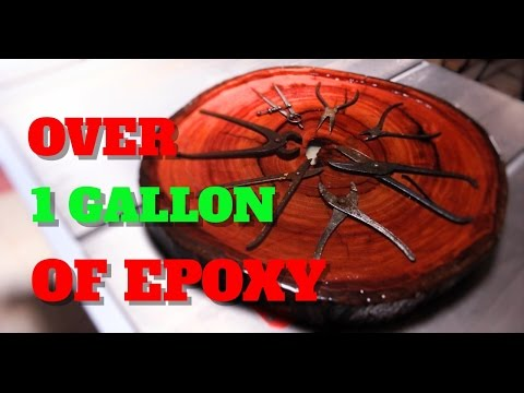OVER 1 GALLON OF EPOXY RESIN !!!!!!!!!!!!!!!!
