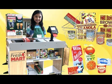 Fresh Market Grocery GRAND OPENING Fully Stocked | Toys Academy