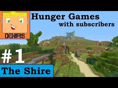Minecraft (Xbox): Hunger Games - The Shire, Match 1