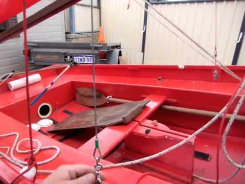 mirror sailing dinghy rigging youtube. Black Bedroom Furniture Sets. Home Design Ideas