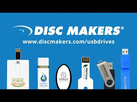 Custom USB Flash Drives from Disc Makers