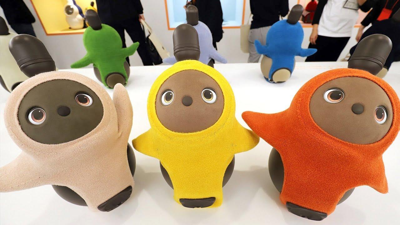 Robotic pets showcased at CES 2019