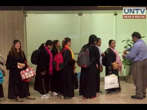 New batch of stranded OFWs in Dammam, Saudi Arabia gets repatriated