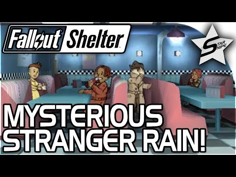 MYSTERIOUS STRANGER MAKES IT RAIN, Washington's Quest... - Fallout Shelter Gameplay Part 4 PC