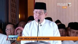 Pernyataan Lengkap SBY Bantah Tudingan Antasari Azhar