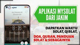 Aplikasi mySolat Dari JAKIM | Memaparkan Waktu Solat, Arah Qiblat, Doa Harian, Tasbih Digital screenshot 2