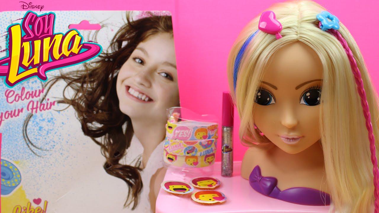 De moda accesorios para hacer peinados Galería de cortes de pelo tutoriales - Juguetes de SOY LUNA en español   Set con accesorios para ...