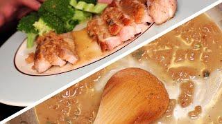 Simple Pork Chops with Pan Sauce