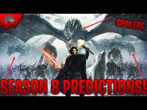 Game of Thrones Season 8 Spoilers TOP 10 Game of Thrones Season 8 Predictions! | Lycan Studios