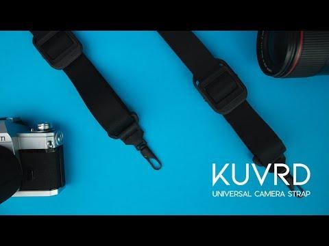 KURVD Universal Camera Strap : une sangle photo novatrice sur Kickstarter
