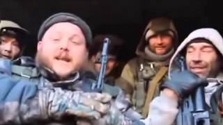 (+18)Scandal militia with fighters MAT 19.02.2015 carefully netsenzurschina.Debaltseve War