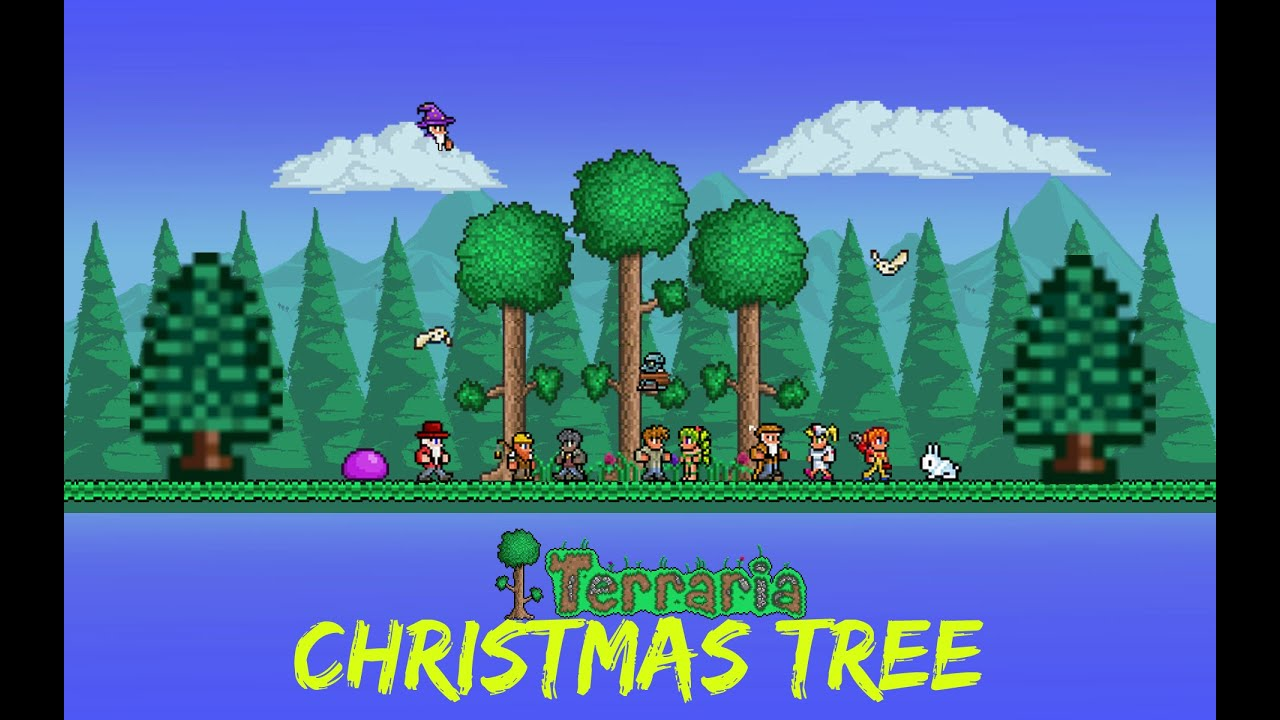Terraria Christmas.How To Put Decorations On A Christmas Tree Terraria Why