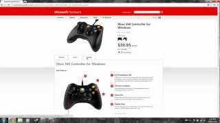 How to setup Xbox 360 controller for windows (Wired)