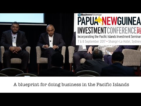 A blueprint for doing business in the Pacific Islands