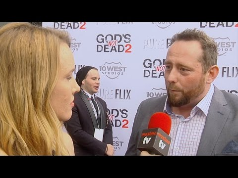 "Director Harold Cronk Interview ""God's Not Dead 2"" Premiere Red Carpet"