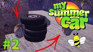 My Summer Car - JAK ZDOBYĆ KOŁA DO SATSUMY? ⚫ (Sezon 4 Odc 2)