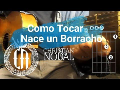 Como Tocar – Nace Un Borracho (Christian Nodal)   Tutorial Guitarra   Edgar Esparza