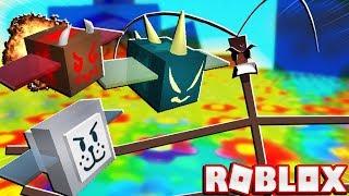 Zerstören der Stick Bug mit Fans In Roblox Bee Schwarm Simulator