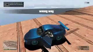 GTA 5 insanely brutal death