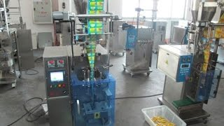 Sachet honey VFFS packing machine for liquid vertical form fill seal machinery