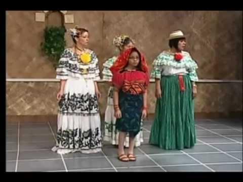 Traditional dress of Panama