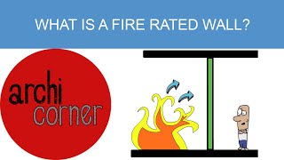AC 015 -  What is a fire rated wall?