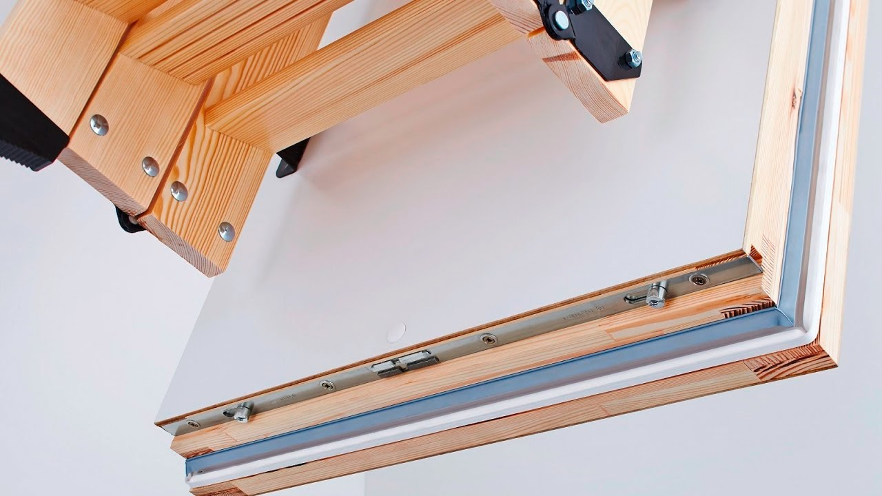 Dachbodentreppe Intercon Select Montieren Youtube