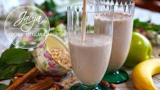 Licuado de Avena, Yogurt y Frutas para Empezar un Buen Día