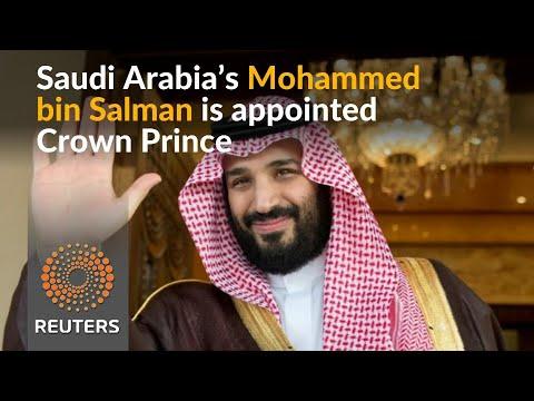 Saudi Arabia's King Salman elevates son to Crown Prince