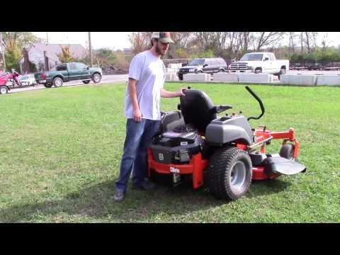 Husqvarna MZ5424S Zero Turn Lawn Mower Review
