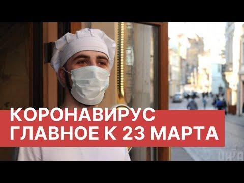 Коронавирус. Главное к 23 марта. Последние новости 23.03.2020. Коронавирус из Китая в России