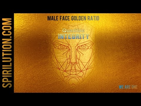 ★Male Golden Face Ratio - Facial Symmetry Formula ★Subliminal Binaural Beats Meditation