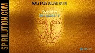 ★Male Golden Face Ratio - Facial Symmetry Formula ★Subli...