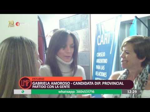 """MEDIOS PROVINCIA - GABY AMOROSO, EMILIA CASTELLANOS RECORRIERON EL """"C.O.T"""" DE TIGRE"""