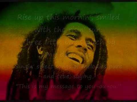 Bob Marley - Three Little Birds [LYRICS]