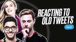 Rekkles going bald soon?!   Rekkles, Nisqy & Sjokz REACT to old tweets