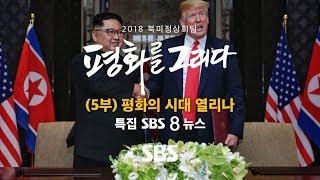 2018 북미정상회담 특별 생방송 (5부) - 특집 8뉴스 (풀영상) / SBS / 2018 북미정상회담