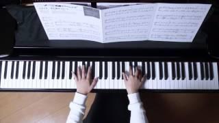 使用楽譜;月刊ピアノ2017年1月号、 2016年12月22日 撮影.