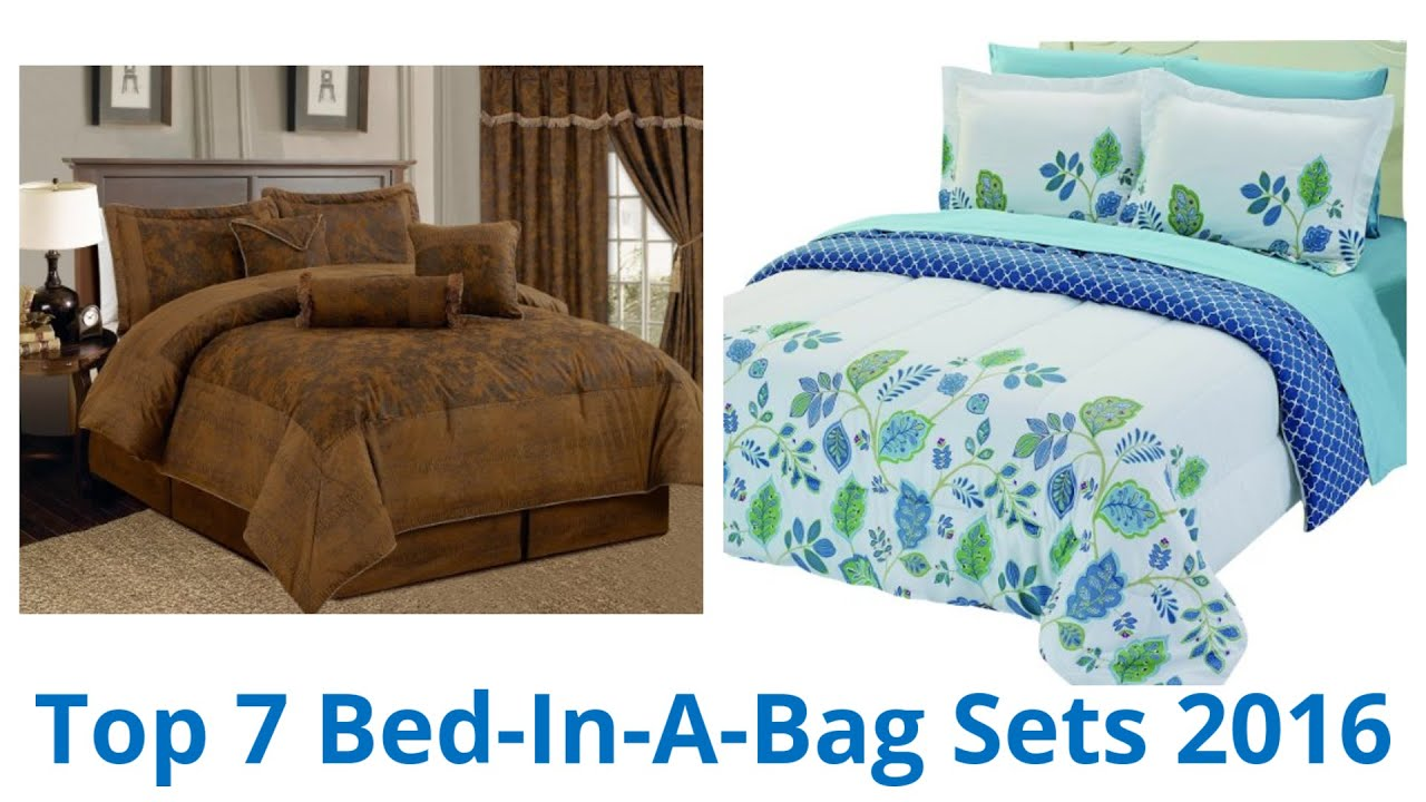7 Best Bed In A Bag Sets